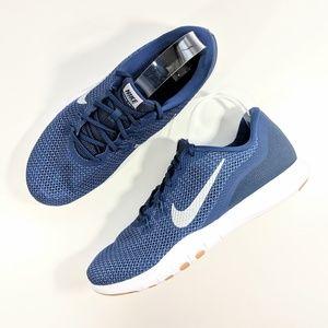 NEW Nike Flex Trainer 7 Navy Blue/White Women's 12
